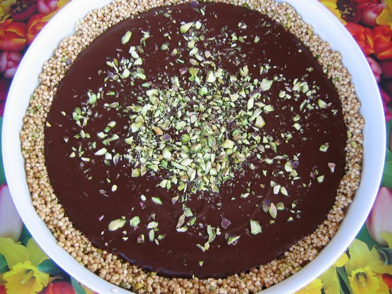 Choklad paj m quinoa 002