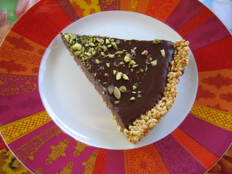 Choklad paj m quinoa 006