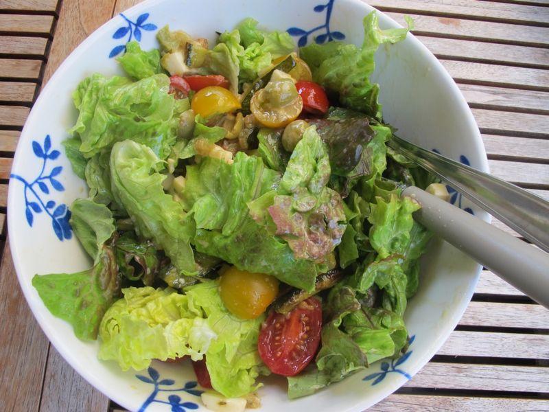 Zucchinisallad 002